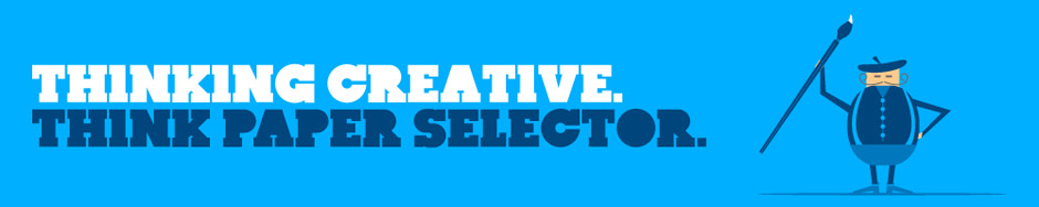 Thinking Creative. Think paper selector